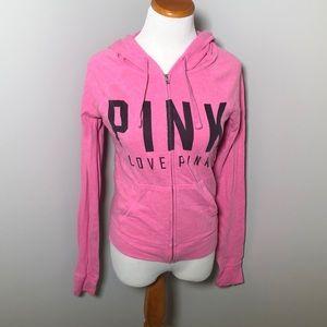 Pink VS Zipper Jacket